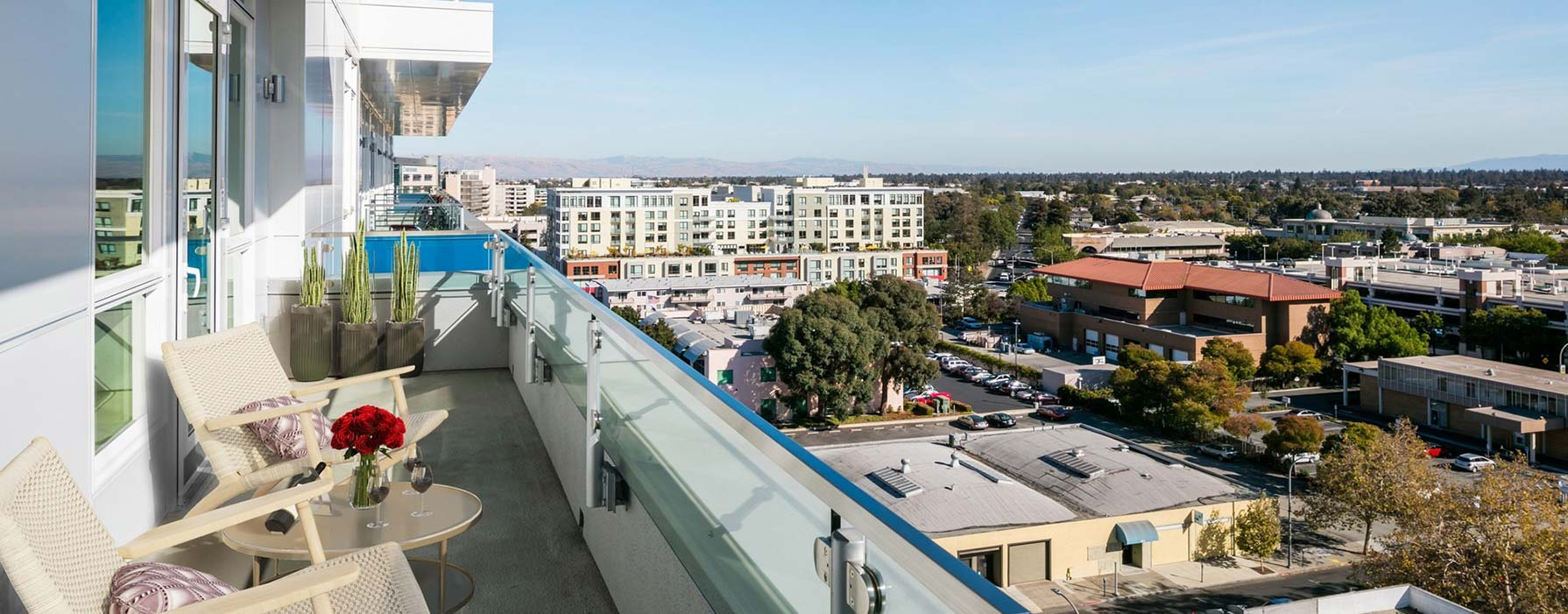 Indigo Apartments - Redwood City, CA - Balcony View
