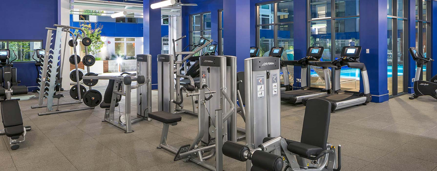 Indigo Apartments - Redwood City, CA - Workout Room